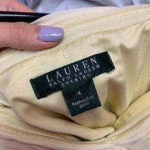 Ralph Lauren Dresses - Lauren by Ralph Lauren Strapless Evening Gown